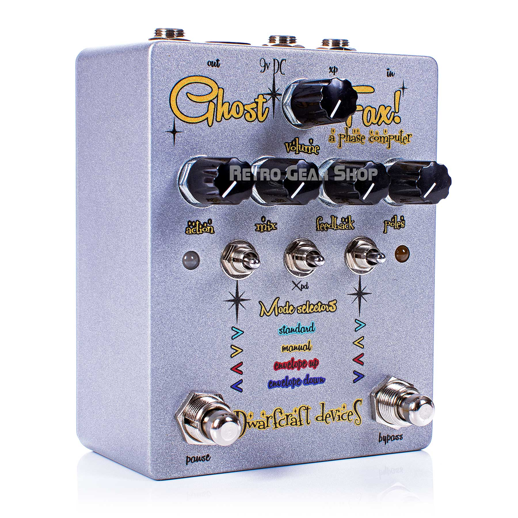 Dwarfcraft Devices Ghost Fax Phaser Pedal