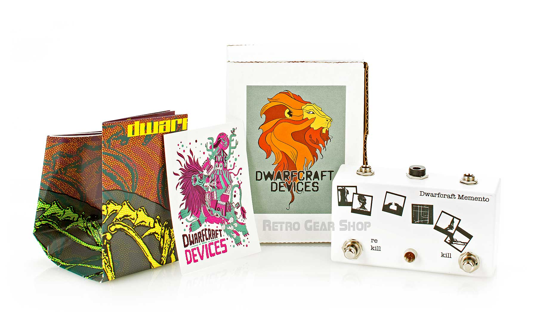 Dwarfcraft Devices Memento Box Extras