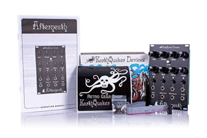 EarthQuaker Devices Afterneath Eurorack Box Manual Extras