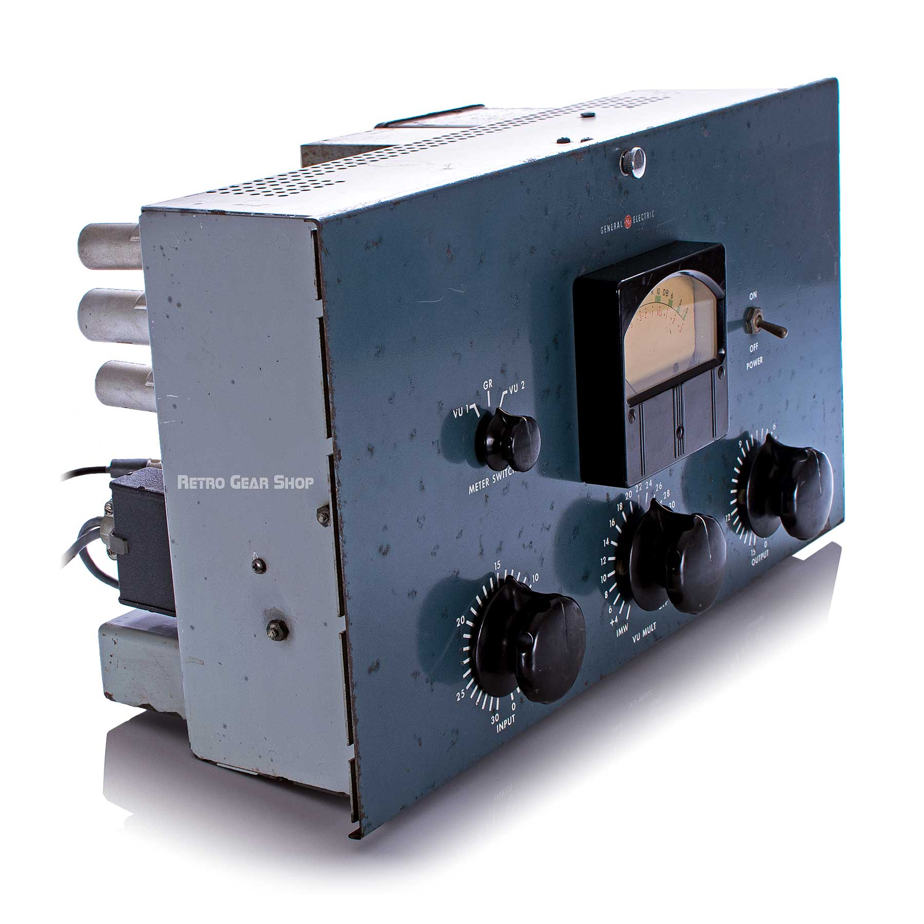 General Electric GE BA-7A Tube Limiter Top Left