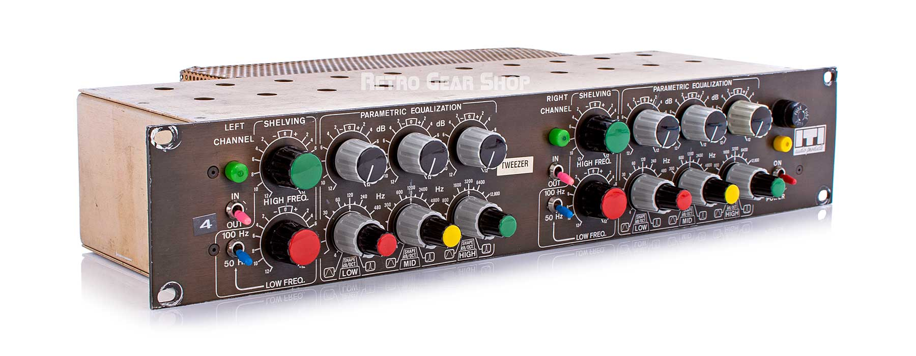 ITI Sontec 230 Parametric EQ Top Left