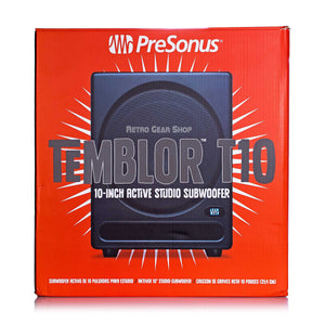 Presonus Temblor T10 Box