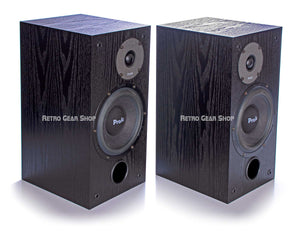ProAc Studio SM 100 Passive Studio Monitors Pair Black Top Left