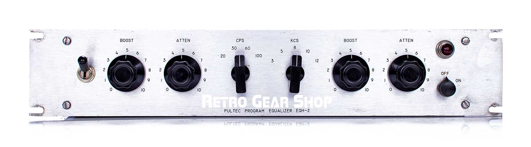 Pultec EQH-2 Program Equalizer Front