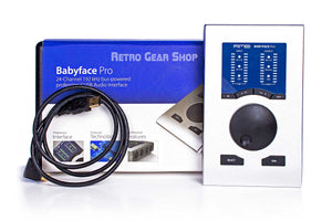 RME Babyface Pro USB Audio Interface Box Cables