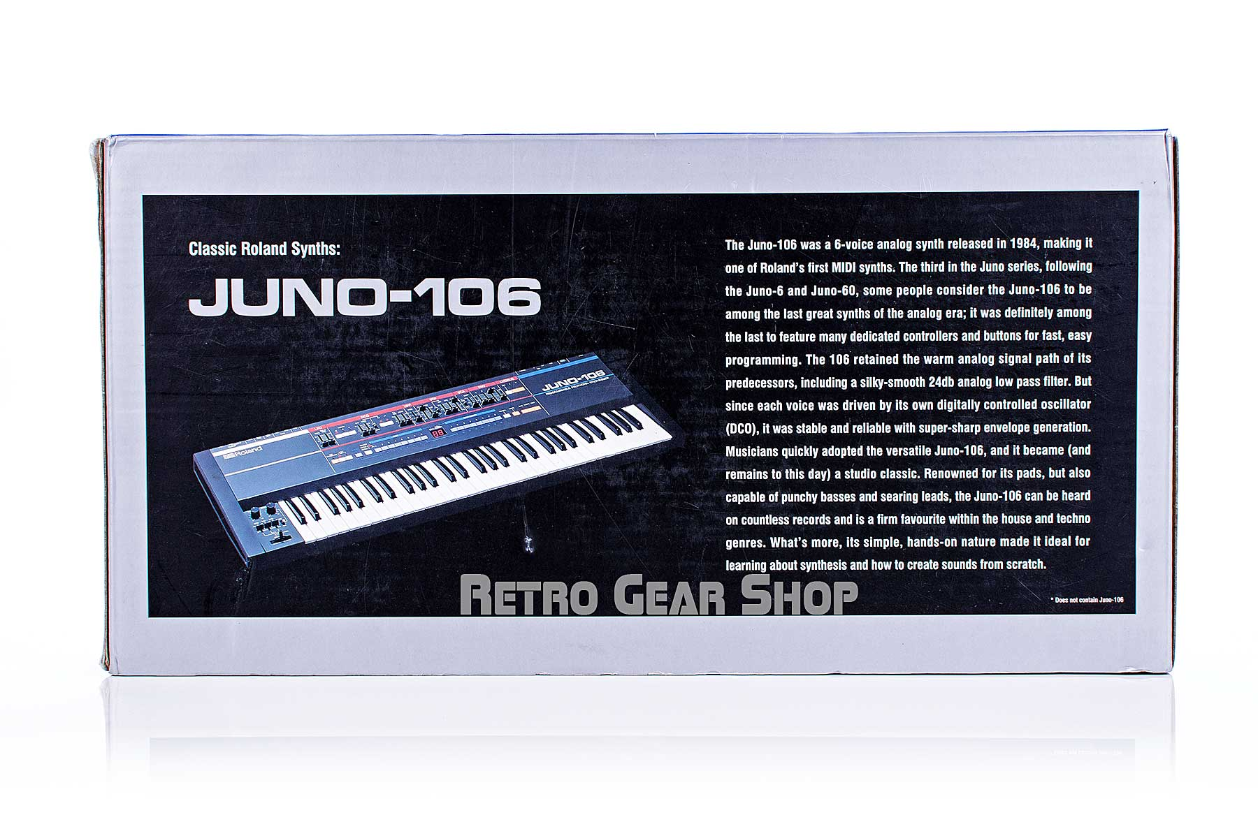 Roland JU-06 Limited Edition Box