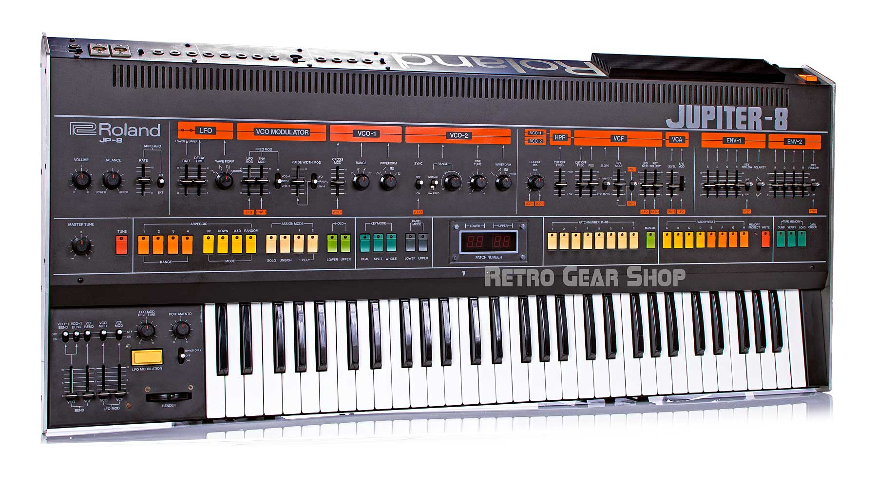 Roland Jupiter 8 JP8 Rare Vintage Analog Synth
