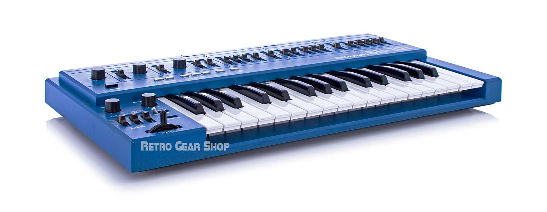 Roland SH-101 Blue + MG-1 Front Left