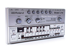 Roland TB-303 Vintage Rare Bass Machine