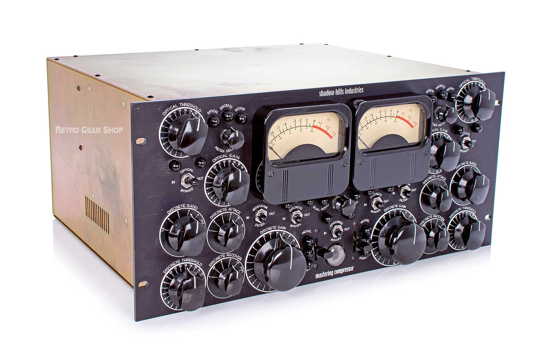 Shadow Hills Mastering Compressor Top Left