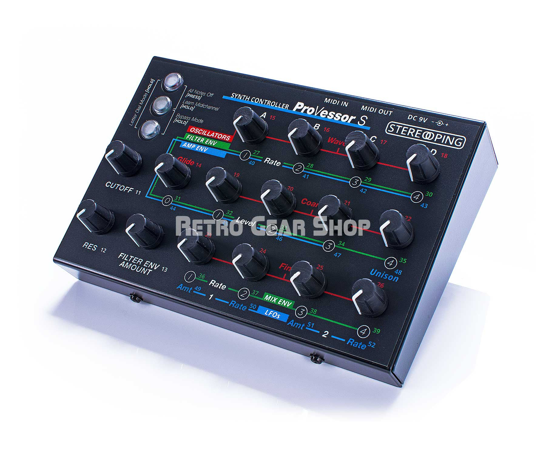 Stereoping CE-1 ProVessorS Midi Controller for SCI Prophet VS Front Right