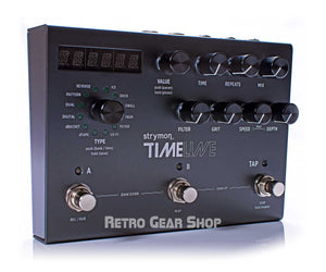 Strymon TimeLine Multidimensional Delay Guitar Effect Pedal