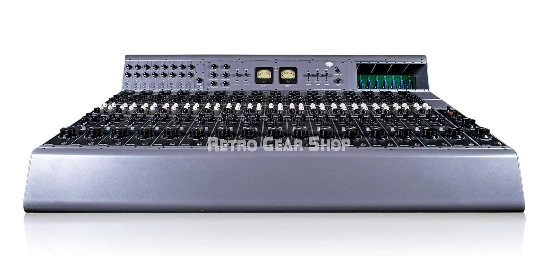 Tree Audio Roots Console 16 Channel Tube Console Front