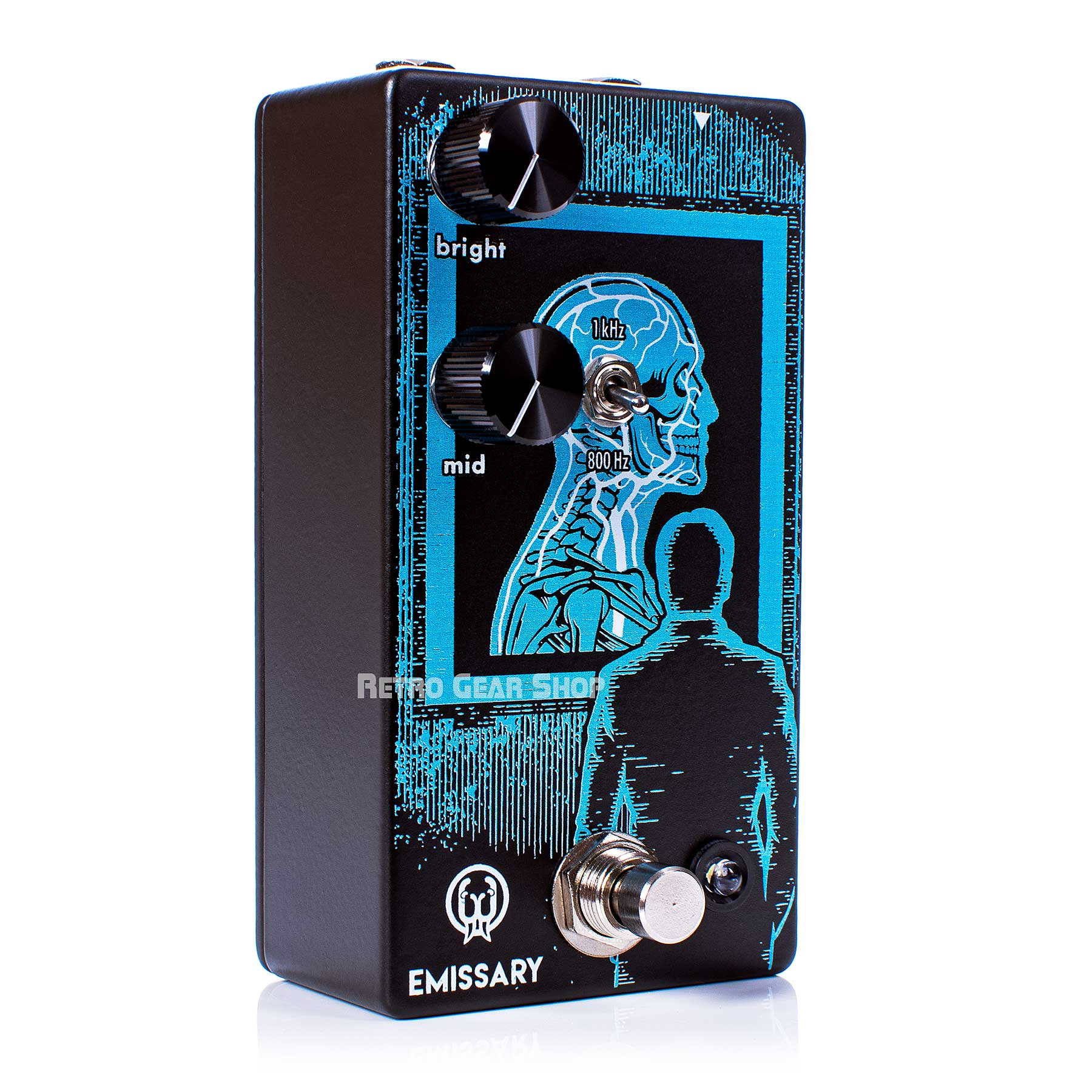 Walrus Audio Emissary Parallel Boost Guitar Effect Pedal