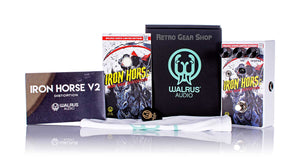 Walrus Audio Iron Horse V2 High Gain Distortion Halloween 2020 Limited Edition Box Manual Extras