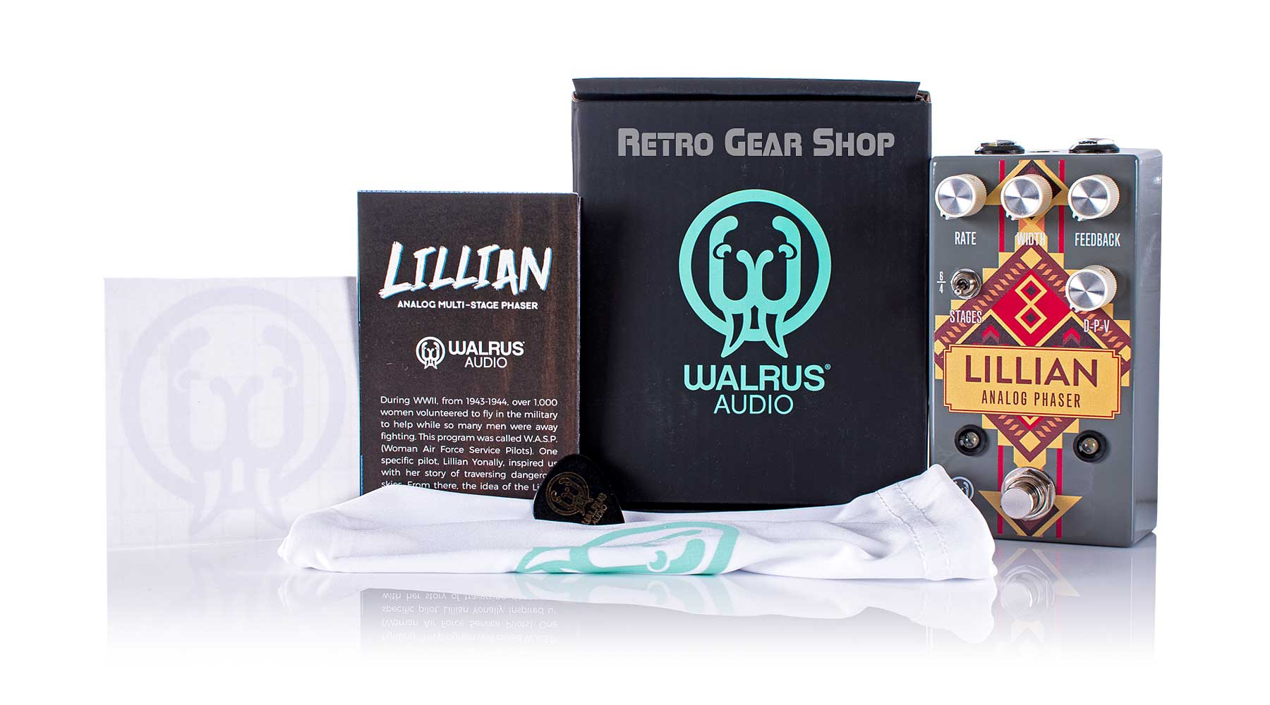 Walrus Audio Lillian Santa Fe Limited Edition Box Manual Extras