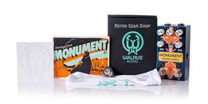 Walrus Audio Monument V2 Santa Fe Box Manual Extras