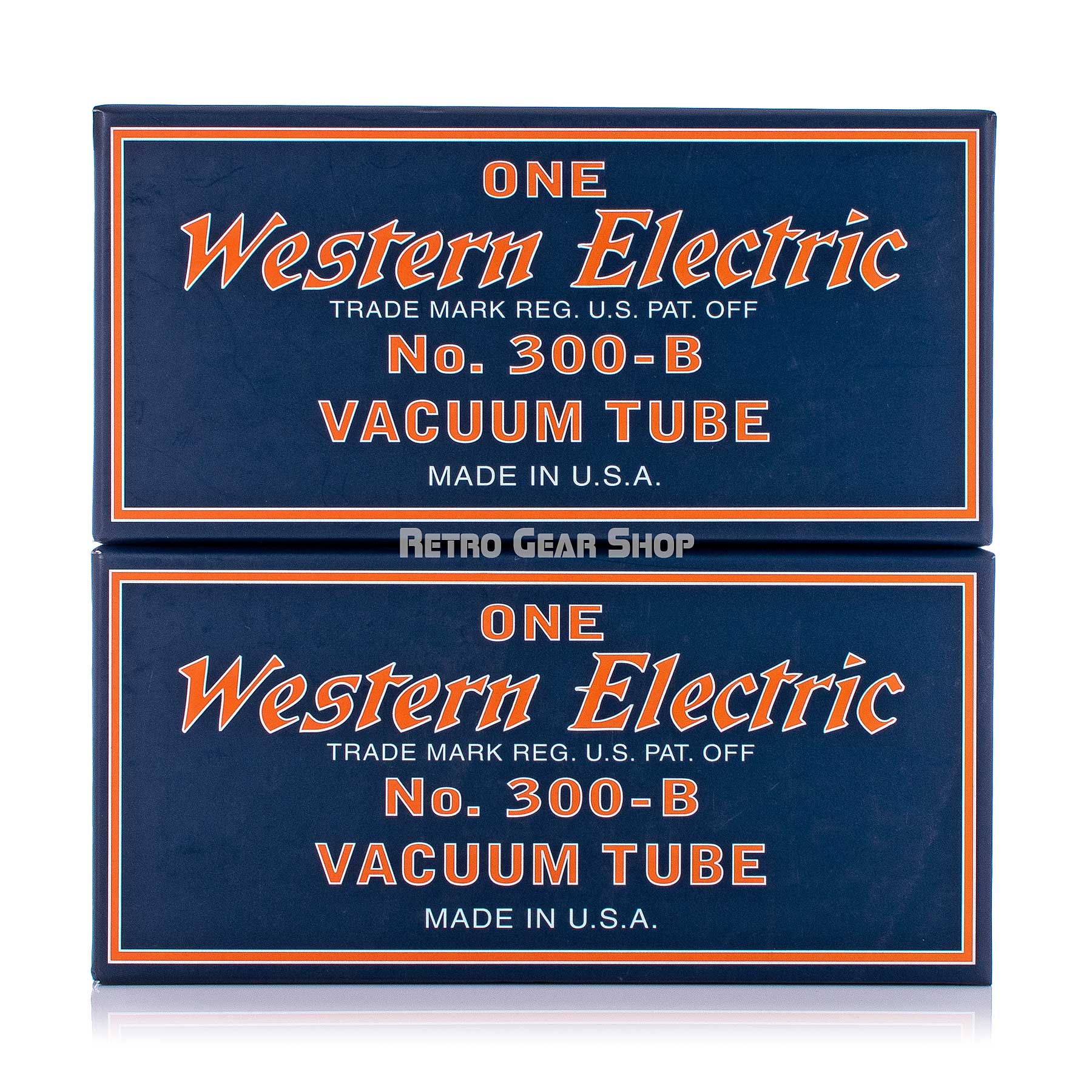 Western Electric 300B Stacked Boxes