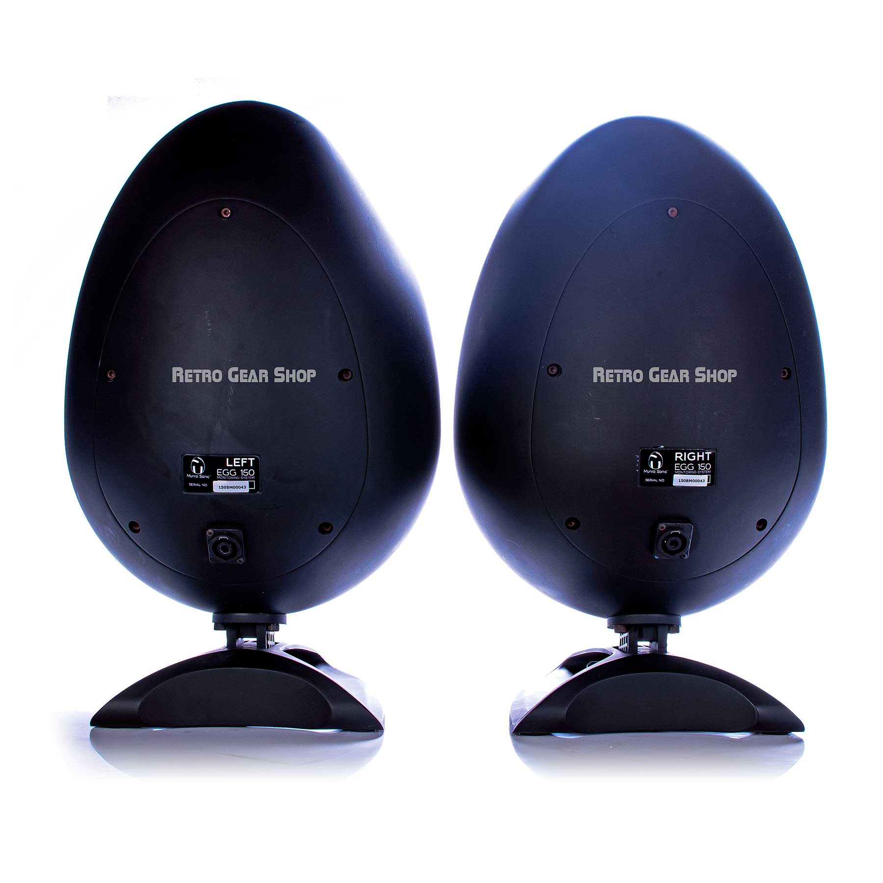 sE Electronics Munro Sonic Egg Monitor Speakers Rear