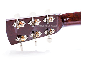 Huss & Dalton OO Custom Headstock Rear