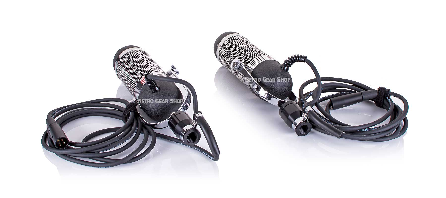 AEA R84 Ribbon Microphone Stereo Matched Pair Bottom Right