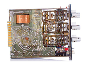 API 550A EQ Internals Left