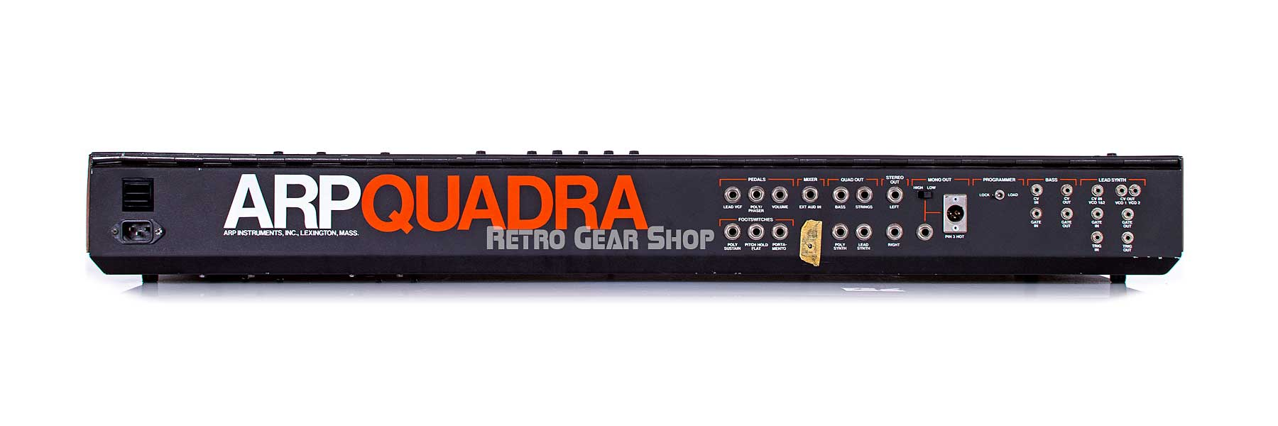 Arp Quadra Rear Connections