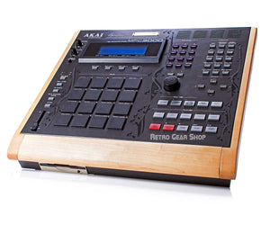 Akai MPC3000LE Custom Wood Sampler