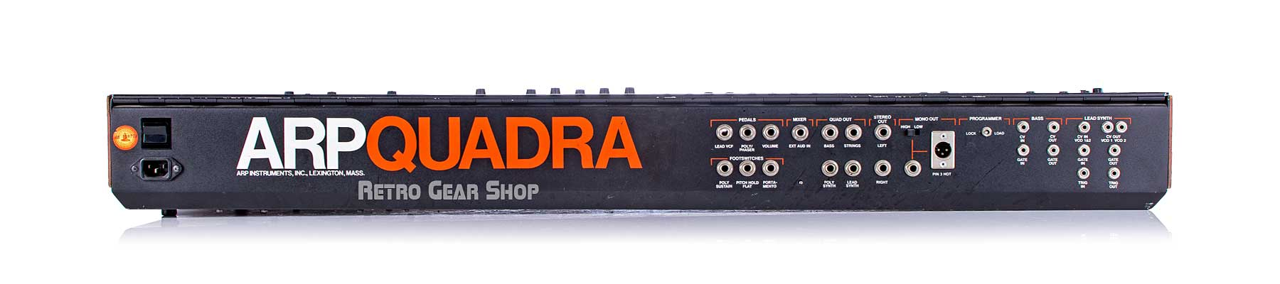 Arp Quadra Serviced Rear