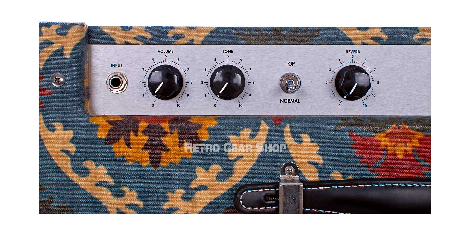 Benson Amps Earhart 1x12 Reverb Combo Top Detail