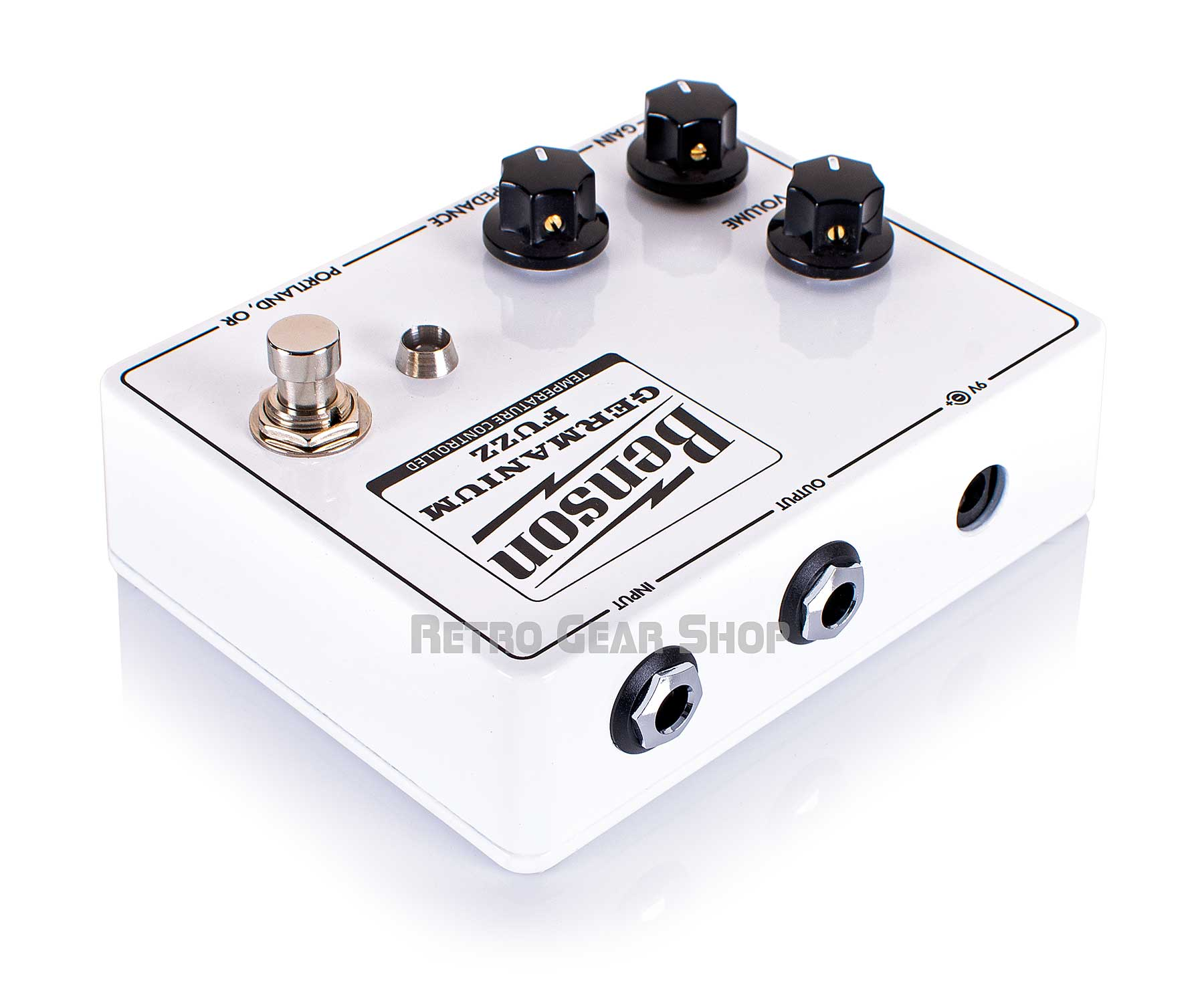 Benson Amps Germanium Solar White Fuzz Right Rear