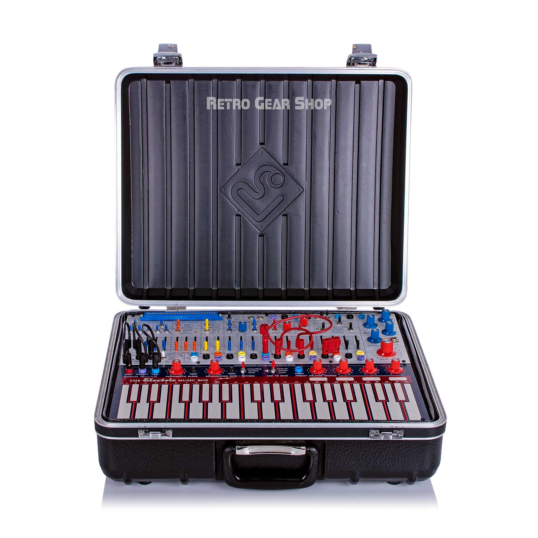 Buchla Music Easel Case Open