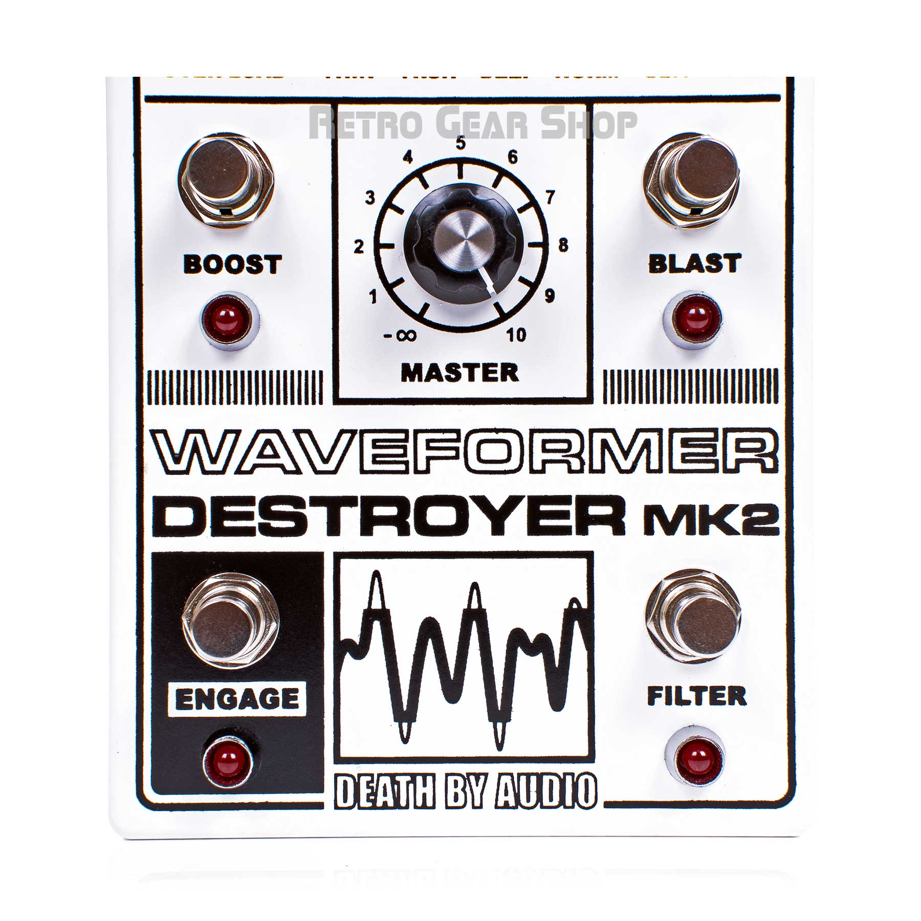 Death By Audio Waveformer Destroyer Mk2 Footswitches