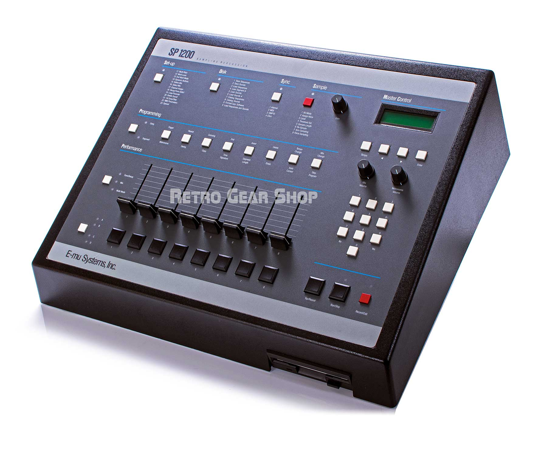 E-Mu SP-1200 Reissue Drum Machine
