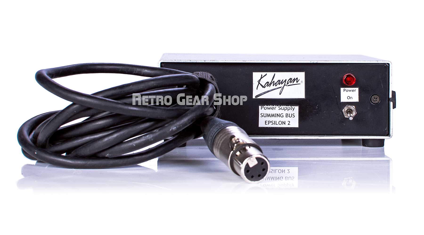 Kahayan Epsilon 2 Summing Mixer + SS 4000 E Power Supply Cable
