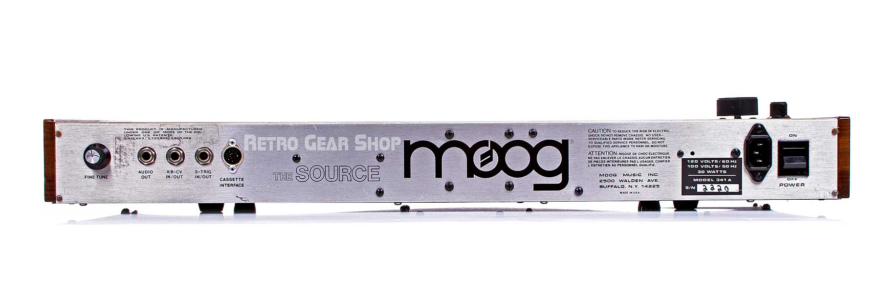 Moog Source Rear