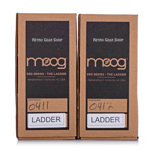 Moog The Ladder Stereo Pair Boxes