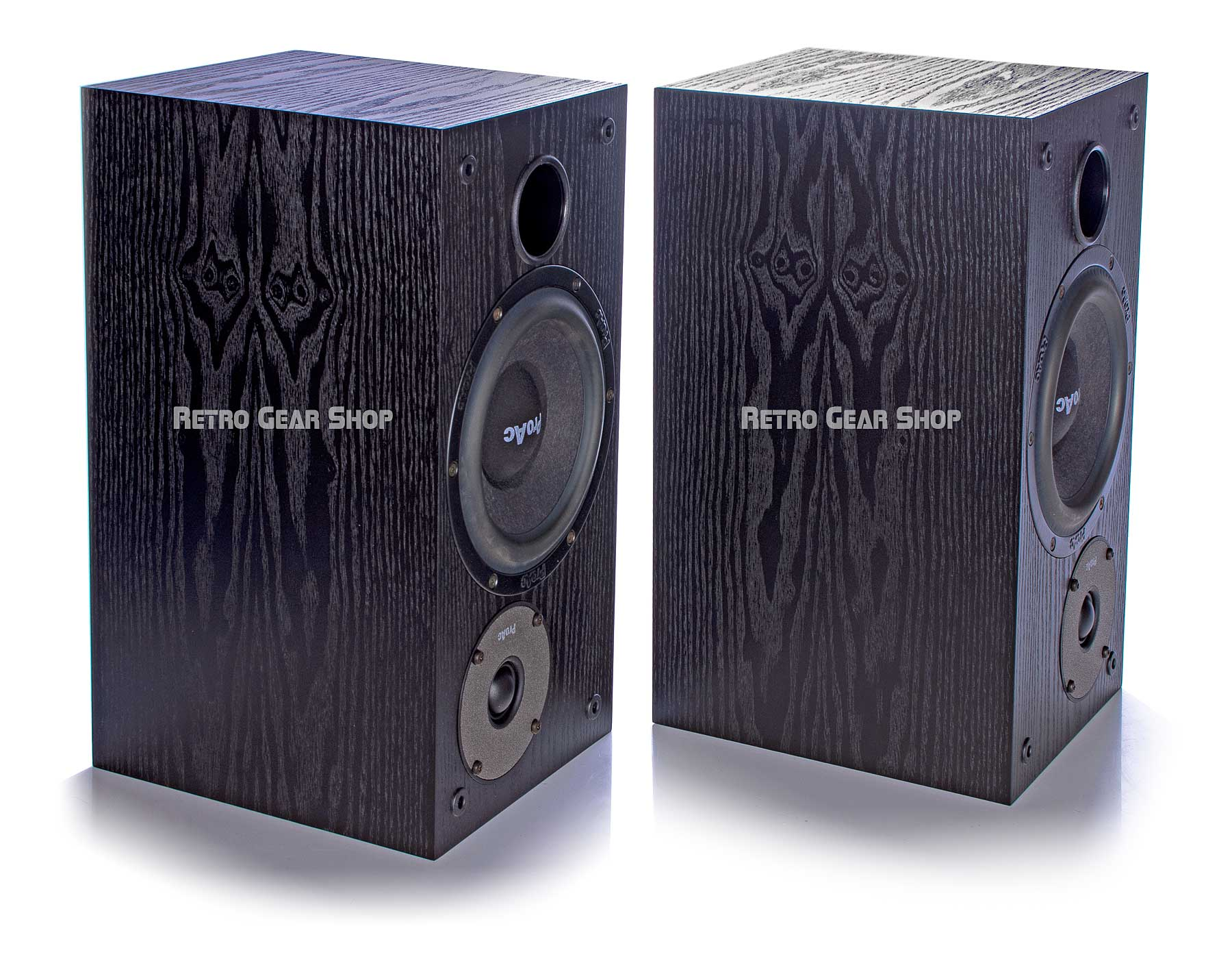 ProAc Studio SM 100 Passive Studio Monitors Pair Black Bottom Right