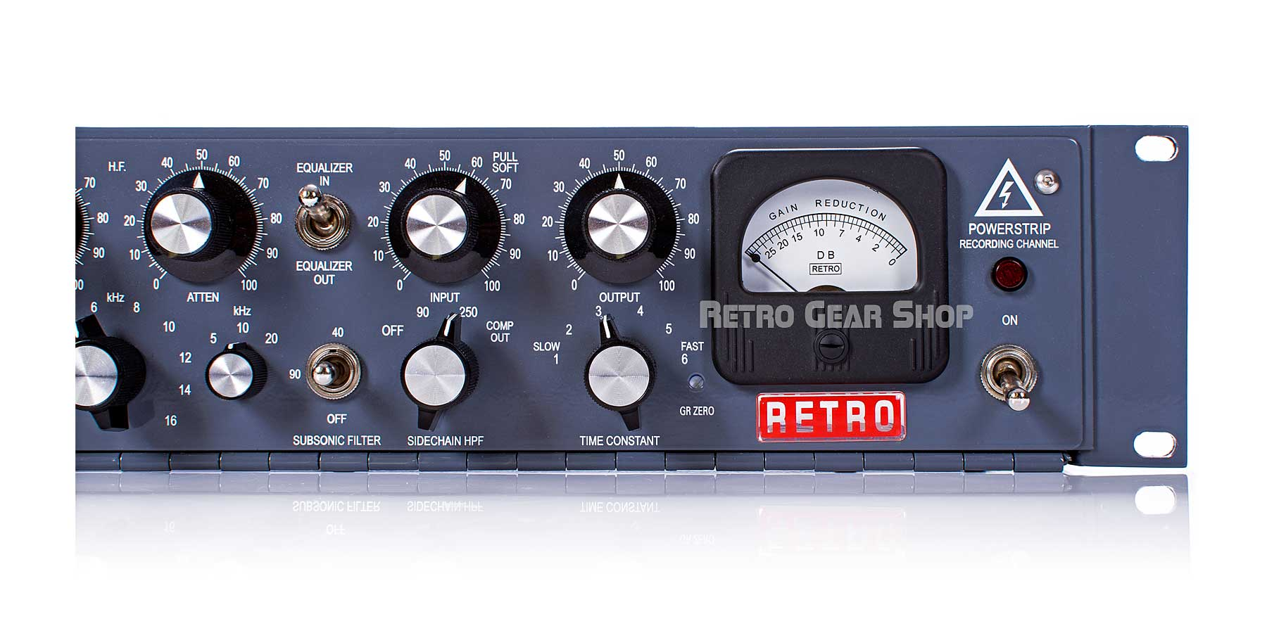 Retro Instruments Powerstrip Recording Channel VU Meter
