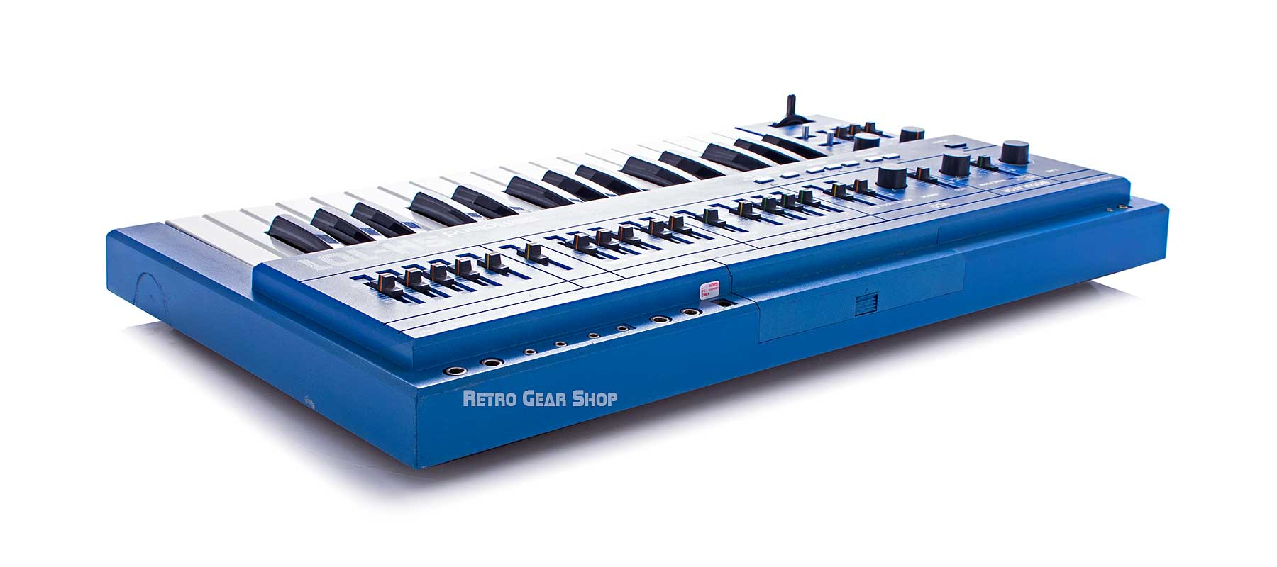 Roland SH-101 Blue Right Rear #372513