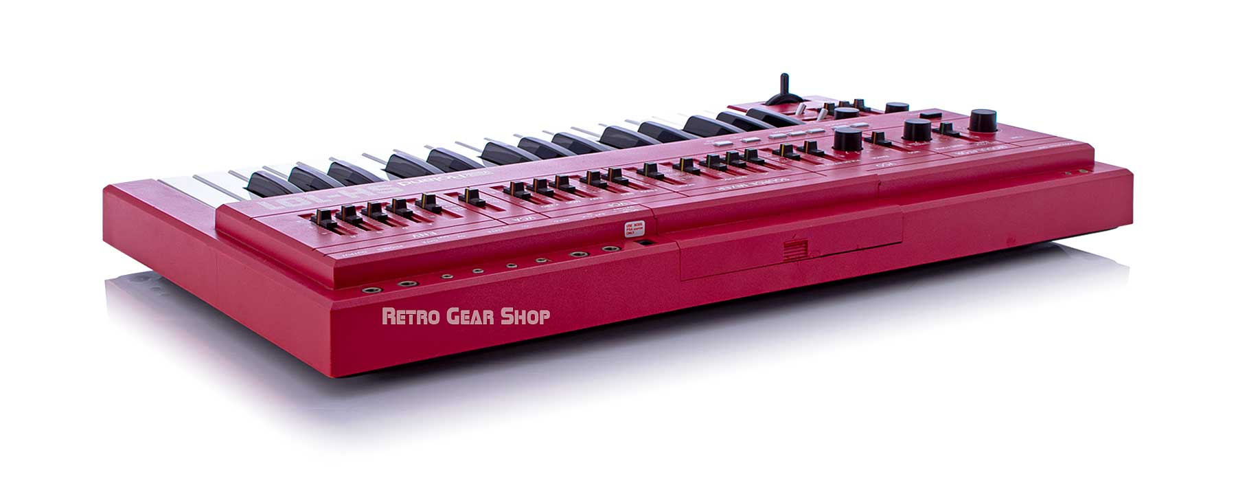 Roland SH-101 Red Serviced Right Rear