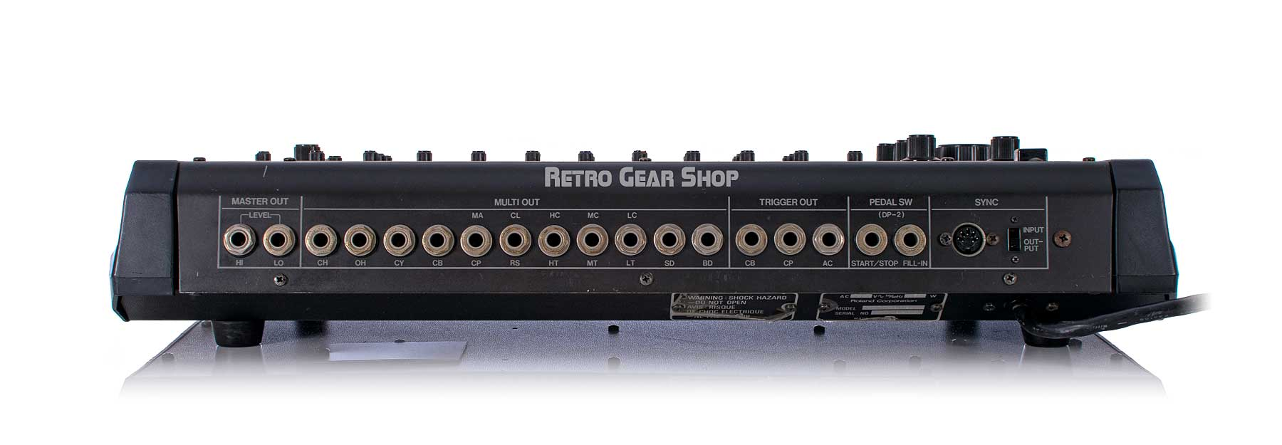 Roland TR-808 Puff Daddy Rear
