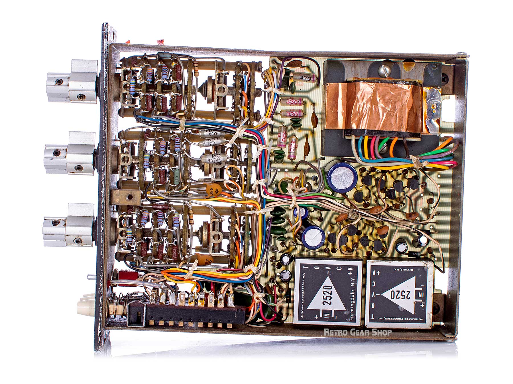 API 550A EQ Internals Right