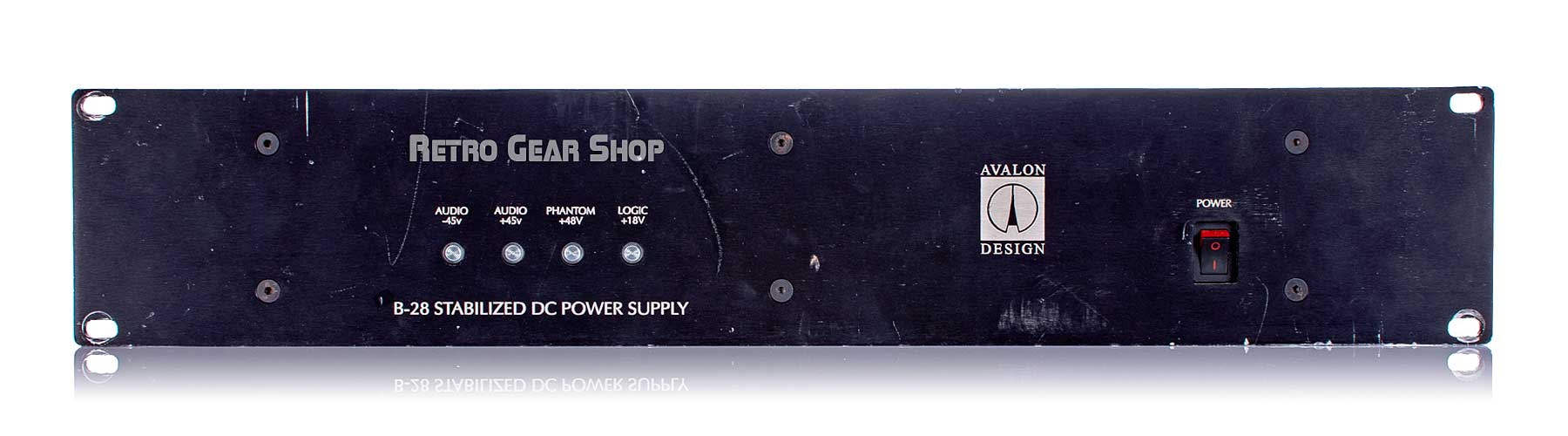 Avalon L44 Compressors Power Supply Front