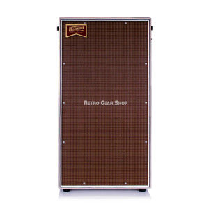 Benson Vincent Cab 2x12 White Classic Striped Front