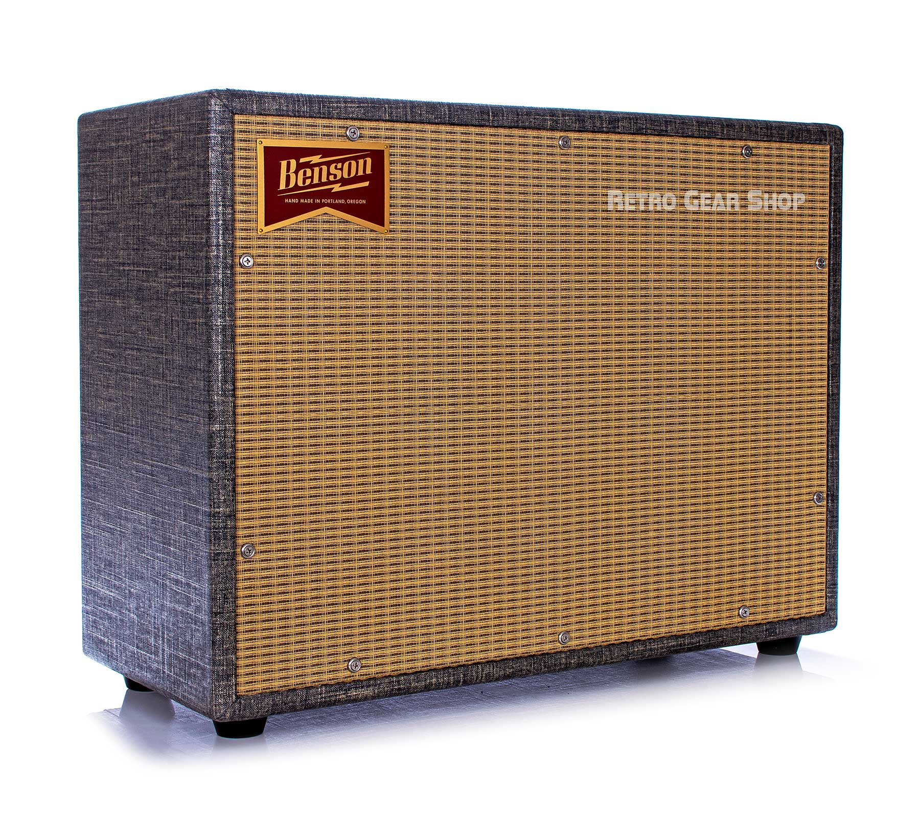 Benson Amps 2x12 Chimera Reverb Combo Night Moves Custom Finish Wheat Grill