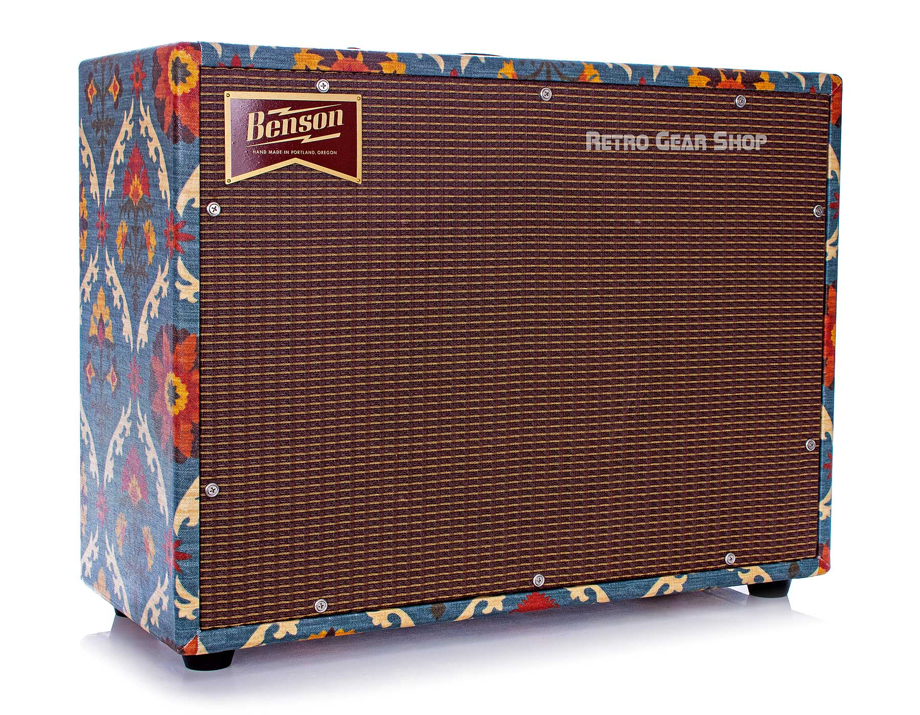 Benson Amps Earhart 1x12 Reverb Combo Aunt Gertie Custom Finish Oxblood Grill