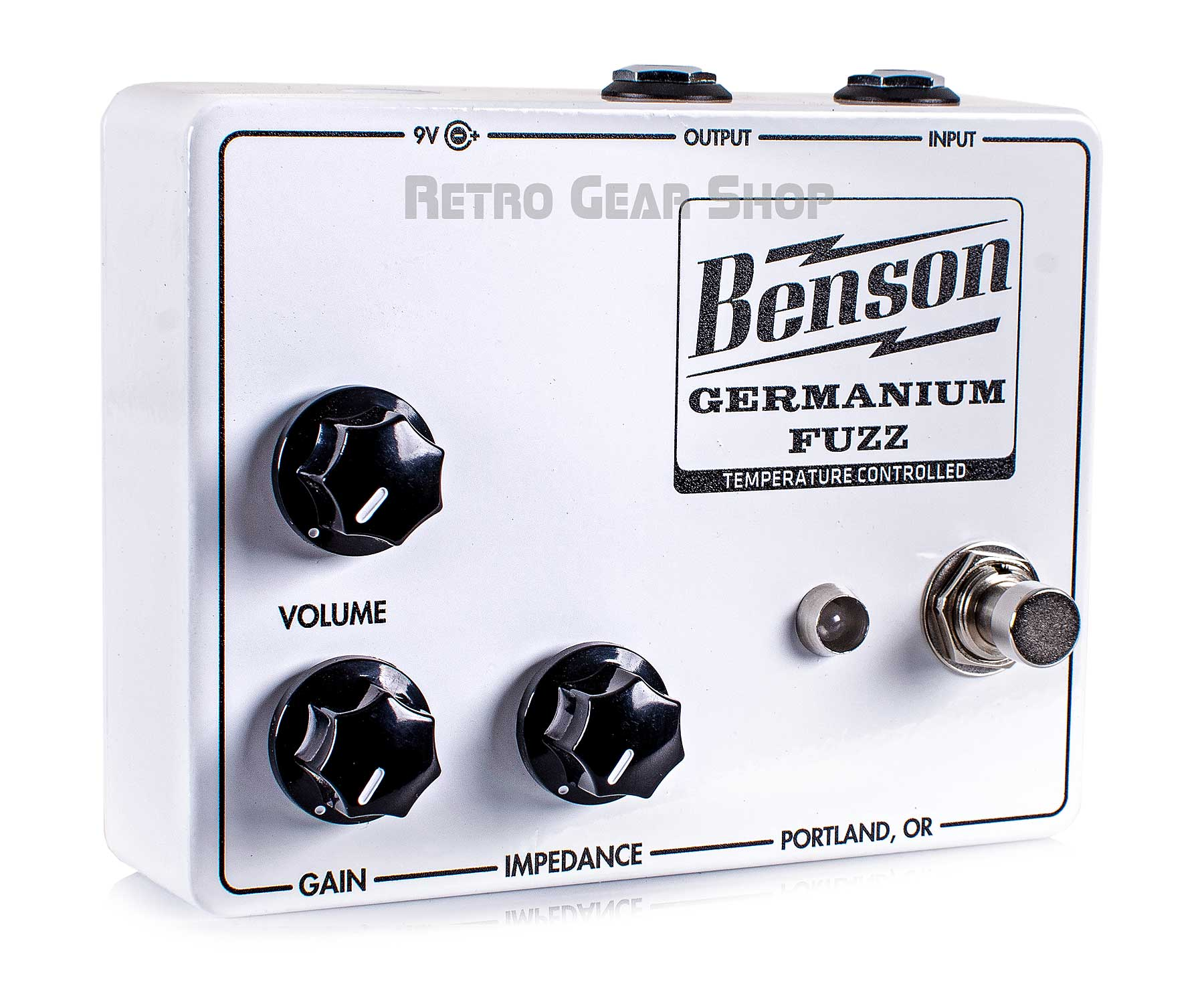 Benson Amps Germanium Solar White Fuzz