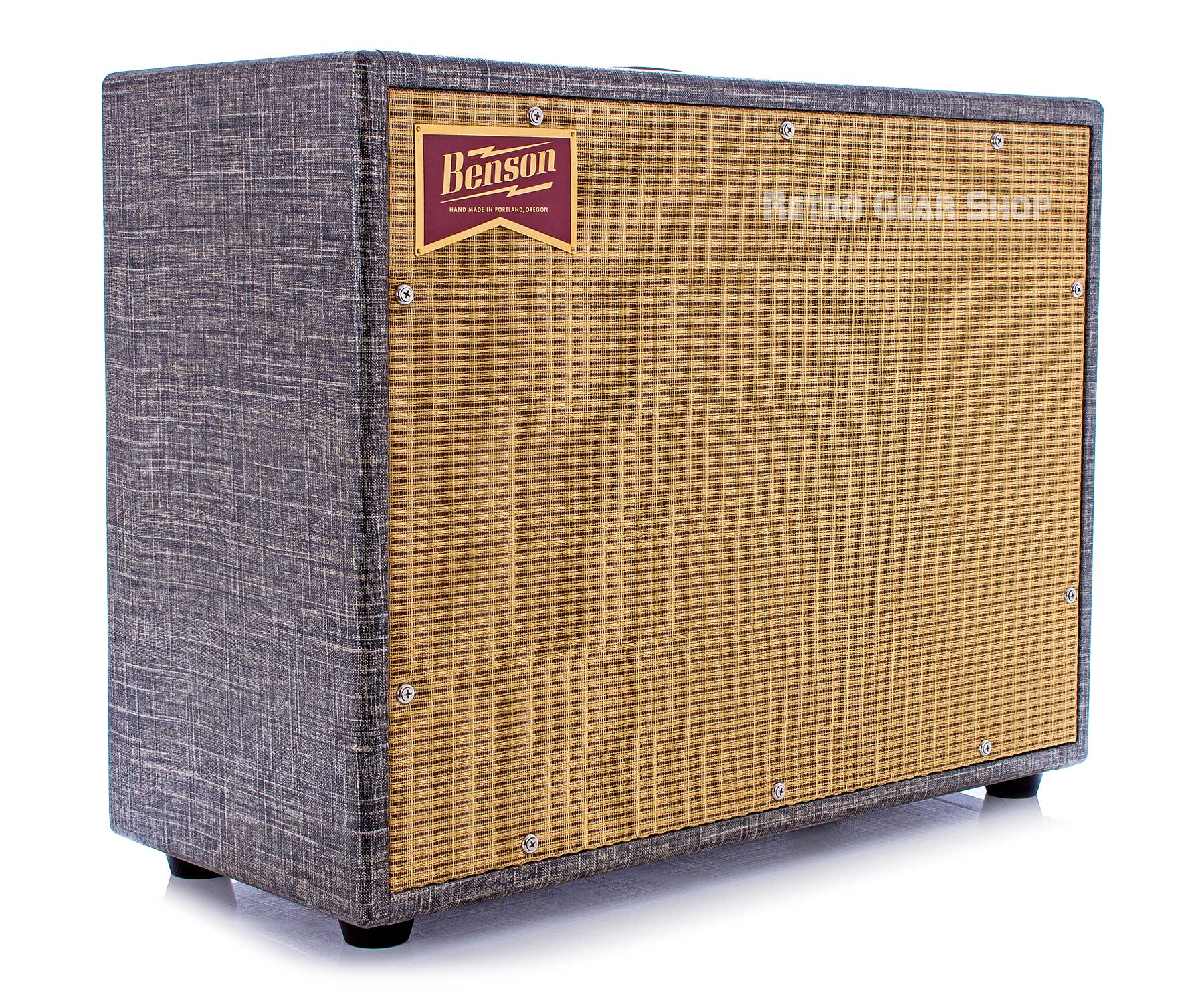 Benson Amps Monarch Reverb Combo 1x12 Night Moves Finish Wheat Grill Boutique Custom