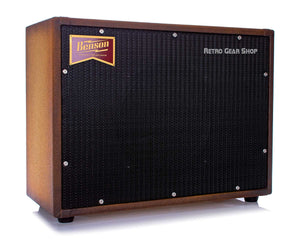 Benson Amps Monarch Reverb Combo 1x12 Custom Finish Bourbon Burst Black Grill